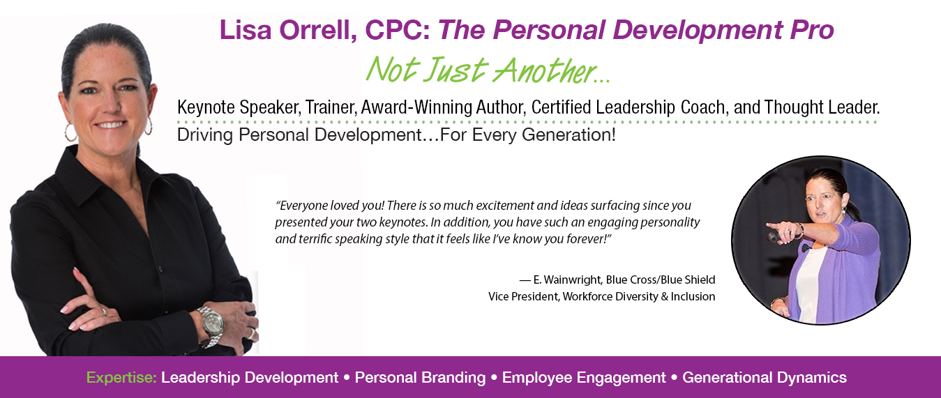 Lisa Orrell, improving communications across the generations
