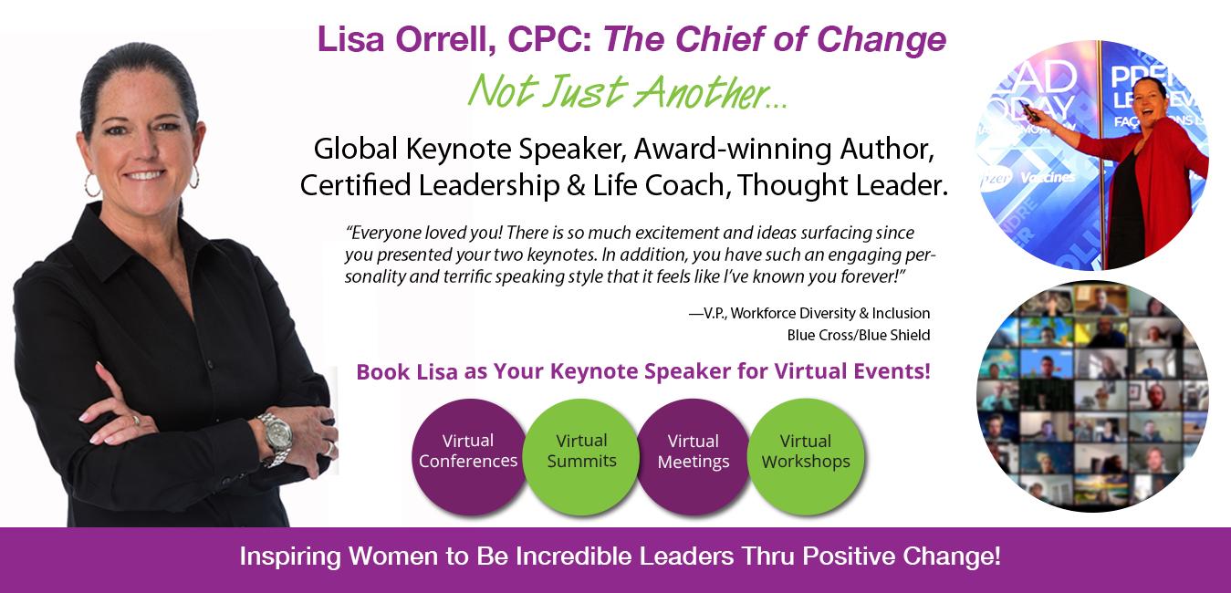 Lisa Orrell, improving communications across the generations